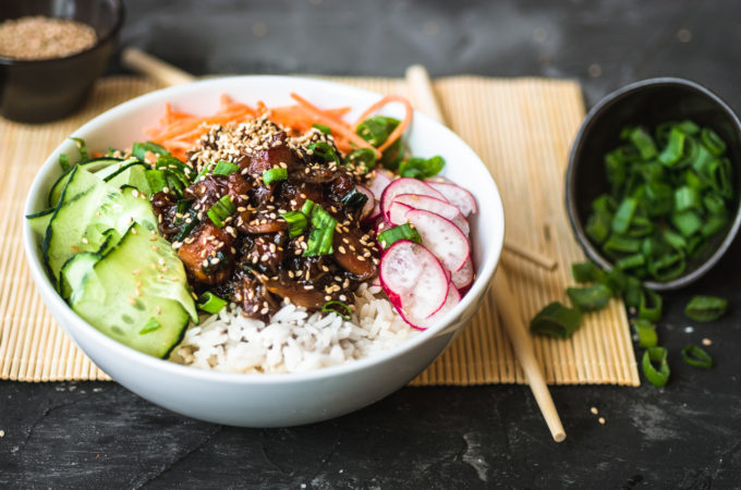 Pulled Teriyaki Chicken Bowl